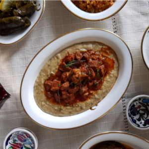 Турецкое блюдо «Хюнкар бегенди»